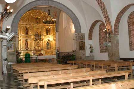 Foto interior Iglesia Santa Ana