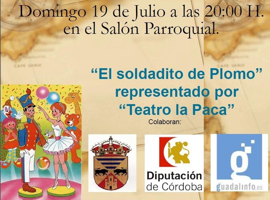 """Teatro """"El Soldadito de Plomo"""" 1"""