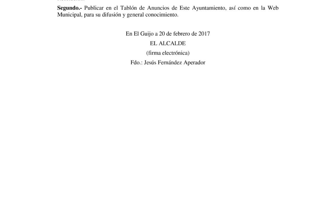 BASES PARA LA ELECCIÓN DE UN DINAMIZADOR/A PARA EL CENTRO GUADALINFO 1