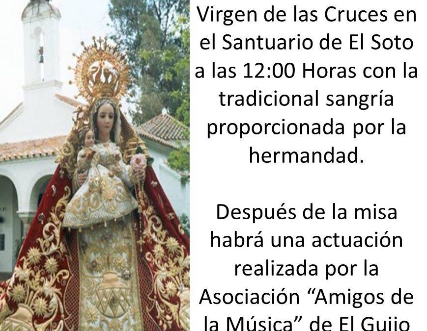 FIESTA CHICA EN HONOR A LA VIRGEN DE LAS CRUCES  1