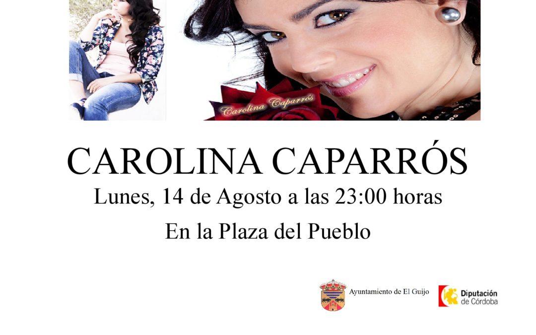 ACTUACIÓN DE CAROLINA CAPARRÓS 1
